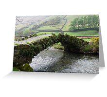 A Living Bridge Greeting Card