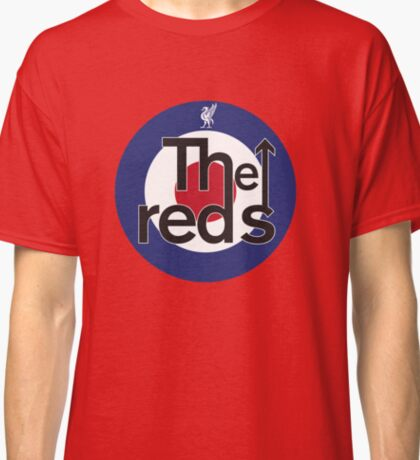 The Reds - Liverpool FC Mods Classic T-Shirt