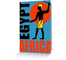 EGYPT-4 Greeting Card