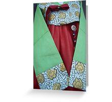 Korean Hanbok Traditional Dress Greeting Card