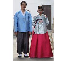 Korean Wedding Couple Photographic Print