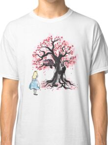 The Cheshire's Tree sumi-e Classic T-Shirt