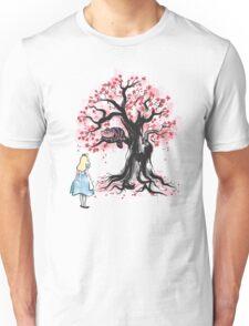 The Cheshire's Tree sumi-e Unisex T-Shirt