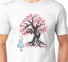 The Cheshire's Tree sumi-e Unisex T-Shirt