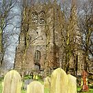 Ormskirk Parish Curch & Graveyard by Liam Liberty