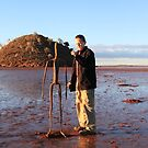 Gormley Statue at Lake Ballard by Cheryl Parkes