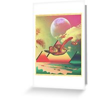 From the Sea to the Sky  Greeting Card