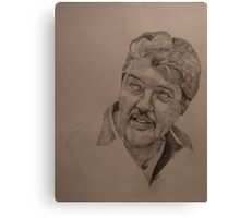 Sketch for Ivan Canvas Print