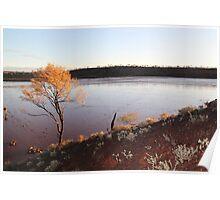 Gorgeous Lake Ballard Poster