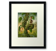 Jack and the beanstalk Framed Print