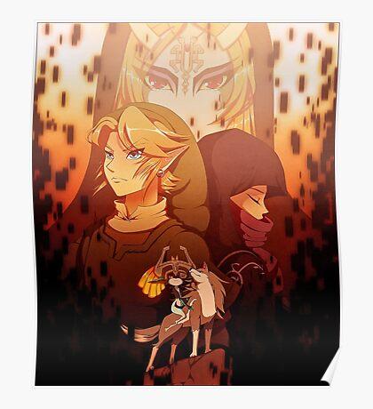 Legend of Zelda: Twilight Princess Poster