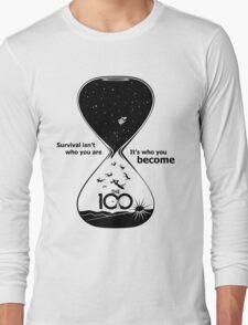 The 100 - Hourglass Long Sleeve T-Shirt