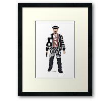 I Am The One Who Knocks Heisenberg Framed Print