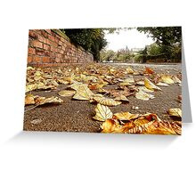 Paved With Gold Greeting Card