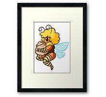 Bumble Buzz Framed Print