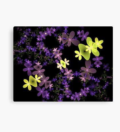 Strange Flowers Canvas Print