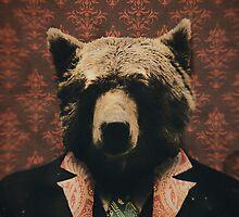 Spencer the Blazer Wearing Bear  by Daniel Watts