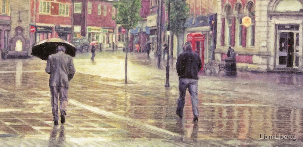More Rain in Ormskirk by Liam Liberty