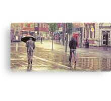 More Rain in Ormskirk Canvas Print