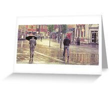 More Rain in Ormskirk Greeting Card
