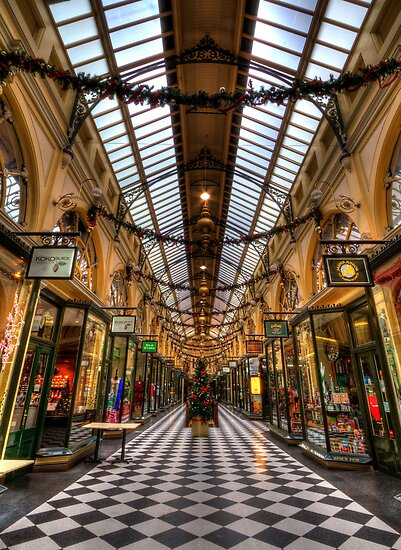 Christmas arcade by collpics