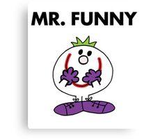 The Joker - Mr Funny Canvas Print