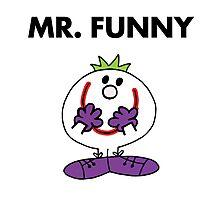 The Joker - Mr Funny Photographic Print