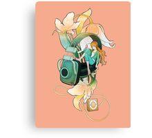 Thumbelina - Peach Canvas Print