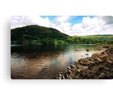 View of Rydal Water Canvas Print
