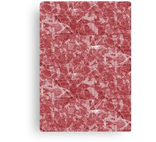 Red Marble texture Canvas Print