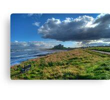 The Northumberland Coast Canvas Print