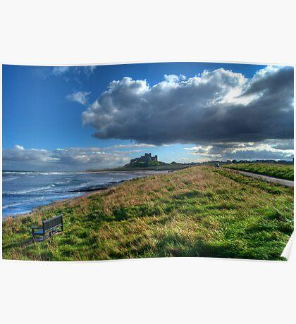 The Northumberland Coast Poster