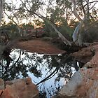 Sunset at Bowanoo Rock Hole by Cheryl Parkes