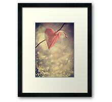 Waiting for Love Framed Print