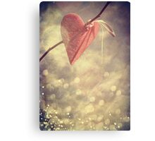Waiting for Love Canvas Print