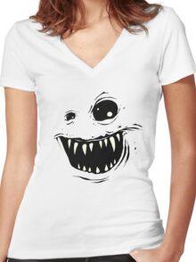 Monty Women's Fitted V-Neck T-Shirt