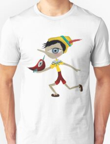 pinoccio pinocho tshirt Unisex T-Shirt