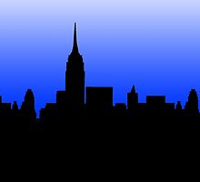 New York Skyline by Isabella Mendiola