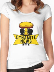 Team Dynamite News Women's Fitted Scoop T-Shirt