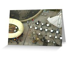 London Eye Cafe Greeting Card