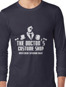 The Doctor's Costume Shop Long Sleeve T-Shirt
