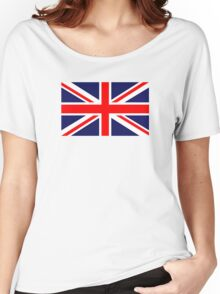 Great Britain Flag Women's Relaxed Fit T-Shirt