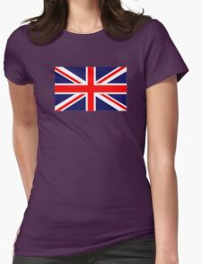 Great Britain Flag Womens Fitted T-Shirt