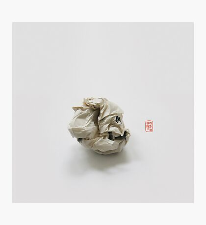 """Failed Sumi"" Origami Photographic Print"