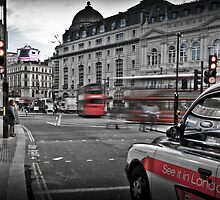 Piccadilly Circus, London, England by daynov