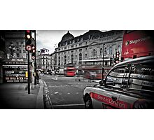 Piccadilly Circus, London, England Photographic Print