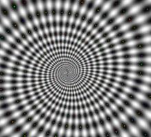 Optical Illusion Sticker
