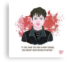 Ramsay Bolton, no happy endings... Canvas Print