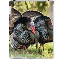 Wild Turkey Gobblers iPad Case/Skin