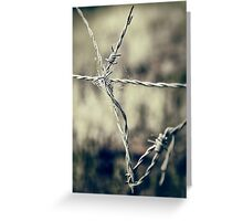 Pointy Droplets Greeting Card